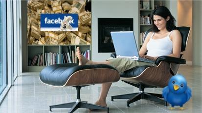 Trabajar en casa y ganar dinero con internet